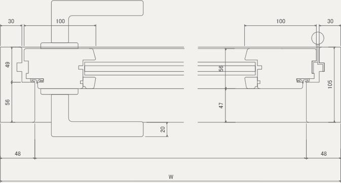 D-S 平面図