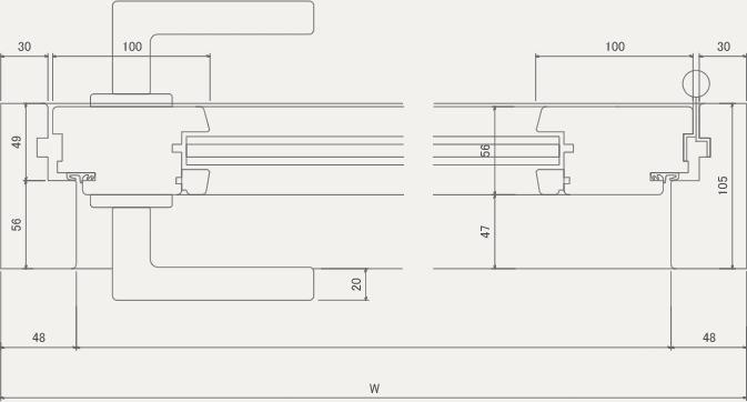 D-H 平面図