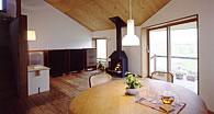 木製サッシ 住宅・別荘 リビングダイニング