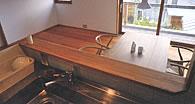 木製サッシ 住宅・別荘 - キッチン