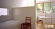 木製サッシ 住宅・別荘 - 寝室