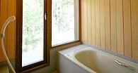 木製サッシ 住宅・別荘 - バスルーム